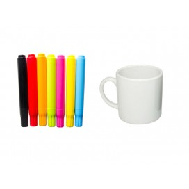 COLOR PEN + MINI MUG (6oz)