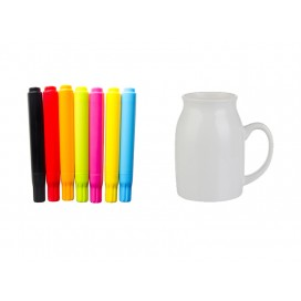 COLOR PEN + MILK MUG (300ml)