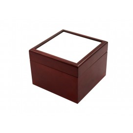 Jewelry Box w/o Ceramic tile (4*4, Brown)