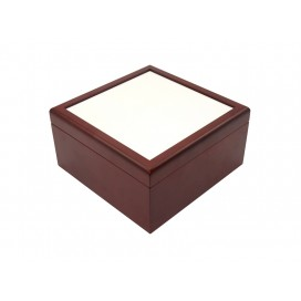 Jewelry Box w/o Ceramic tile (6*6, Brown)