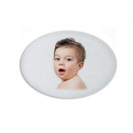 Sublimation Fridge Magnet-Oval