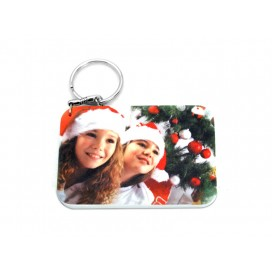 Rectangular Plastic Keychain 57*82mm