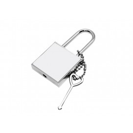 Sublimation Metal Lock ( Square)