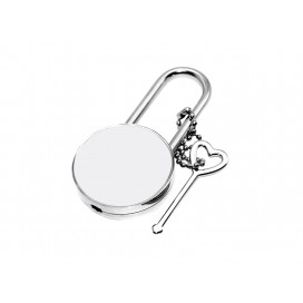 Sublimation Metal Lock (Round)