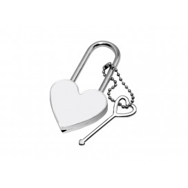 Sublimation Metal Lock (Heart)