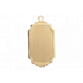 Gold Necklace (Rectangular)