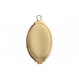 Gold Necklace (Ellipse)
