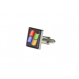 Sublimation Cufflinks-Square