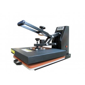Flat Clamshell Press  (2-in-1 time and temperature display,magnet hydraulic theory)