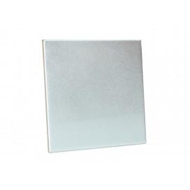 15cm x 20cm Silver Tile