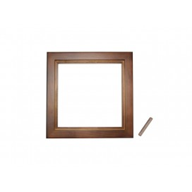 "6""*6"" Photo Frame(Pinewood, two colors available, Dark/light brown)"