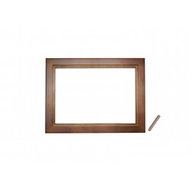 "6""*8"" Photo Frame(Pinewood, two colors available, Dark/light brown)"
