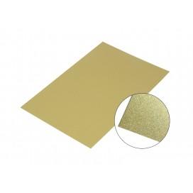 Aluminum Sparkling Board, Gold  10*15
