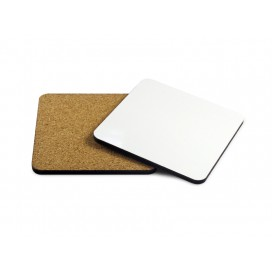 Hardboard Coaster with Cork(Square, 9.5cm)