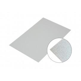 Metal Pearl Sparkling Board, Silver 10*15