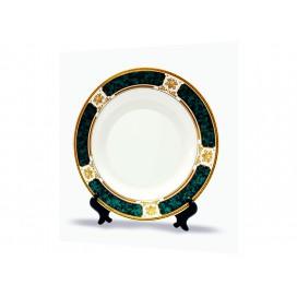 "7.5"" Rim Plates(Green Design)"