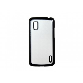 Google Nexus 4 Cover (Plastic,Black)