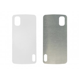Blank Printing Sheet for Google Nexus 4 Cover(Alu)