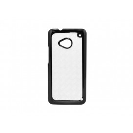 HTC M7 Cover (Plastic,Black)
