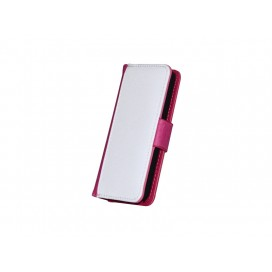 iPhone 5/5S/SE Foldable Case(Purple Red)