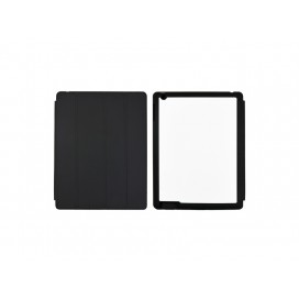 Sub Magnetic Flip  iPad Case  (Black)