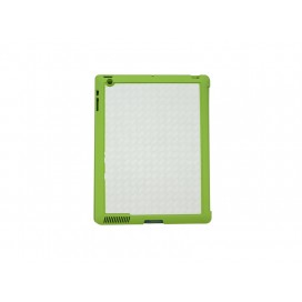 Sub Magnetic Flip  iPad Case  (Green)