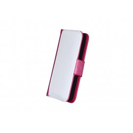 iPhone 4/4s Foldable Case(Purple Red)
