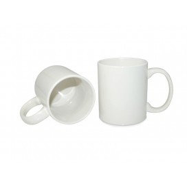 11oz White Coated Mug (Grade B)