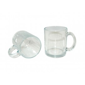 11oz Clear Glass Sublimation Mug