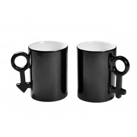 10oz Couple Color Changing Mugs(Black)