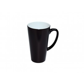 17oz Cone Shape Black Color changing Mug