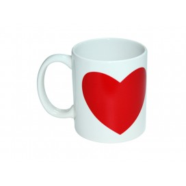 11oz Heart color changing mug