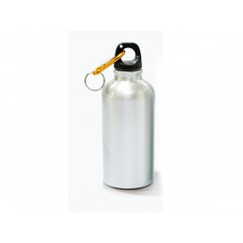 500ml Silver Aluminium Water Bottle